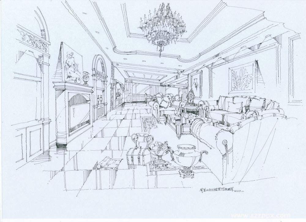 东莞室内设计手绘基础训练班