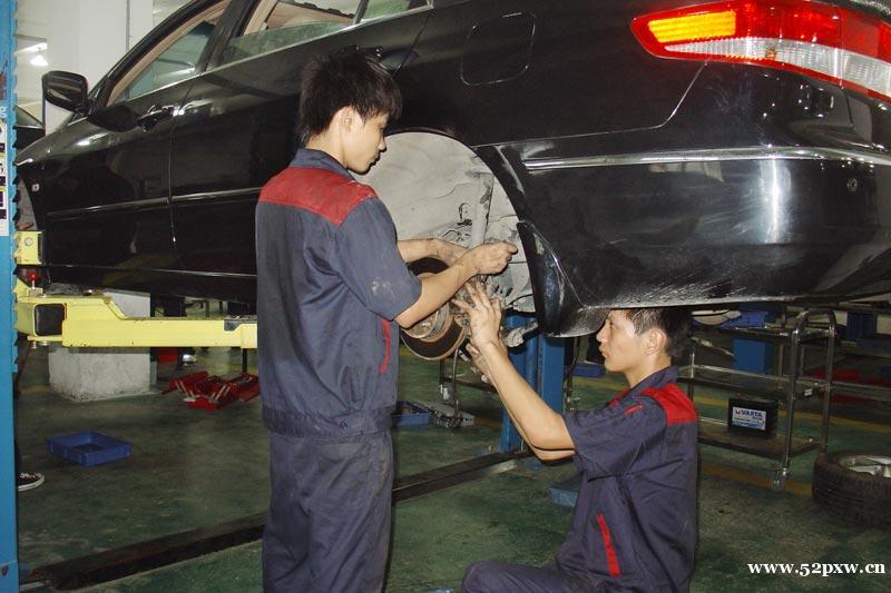 广州汽车轮胎修补,防盗器安装培训