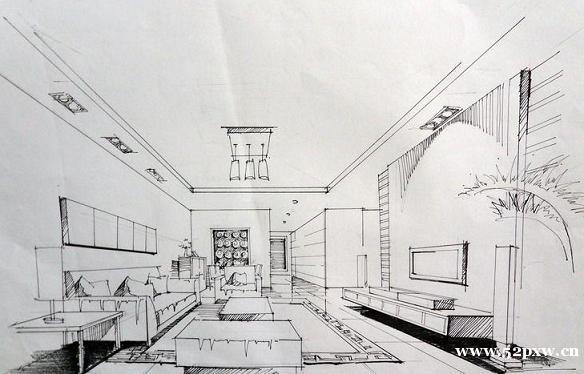 学校手绘房子图片