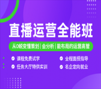 广州直播运营全能培训班