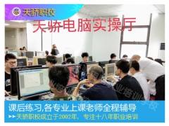 中堂学平面海报设计天骄职校