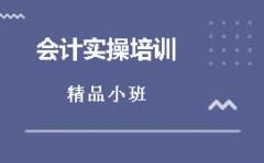东莞东城万达会计实操培训容易入手吗